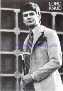 Autogrammkarte Lord Knud 1967